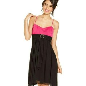 💖 Ruby Rox 🖤 Black & 💖 Pink Dress